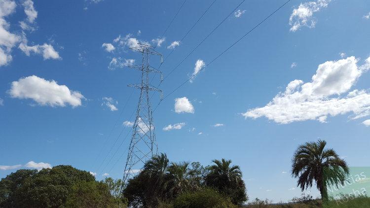 linea alta tension parque eolico carape