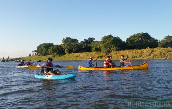 kayaks por arroyo valizas
