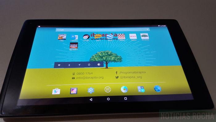 android en tablet Ibirapitá