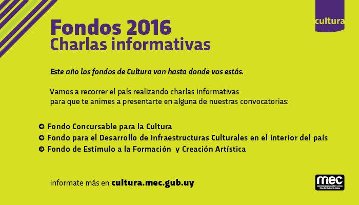 fondos concursables cultura charla en chuy