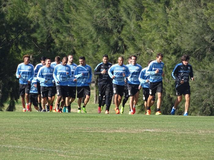 entrenamiento uruguay fecha 9 de eliminatorias