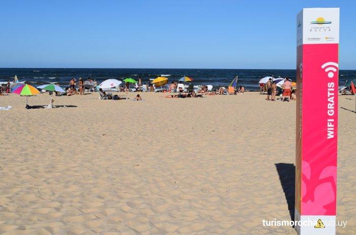 wifi en playas de rocha