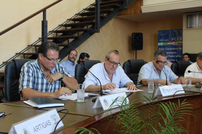 Congreso de Intendentes en Uruguay